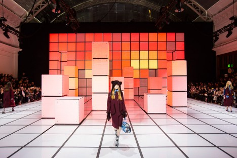 Anya Hindmarch AW16 set design