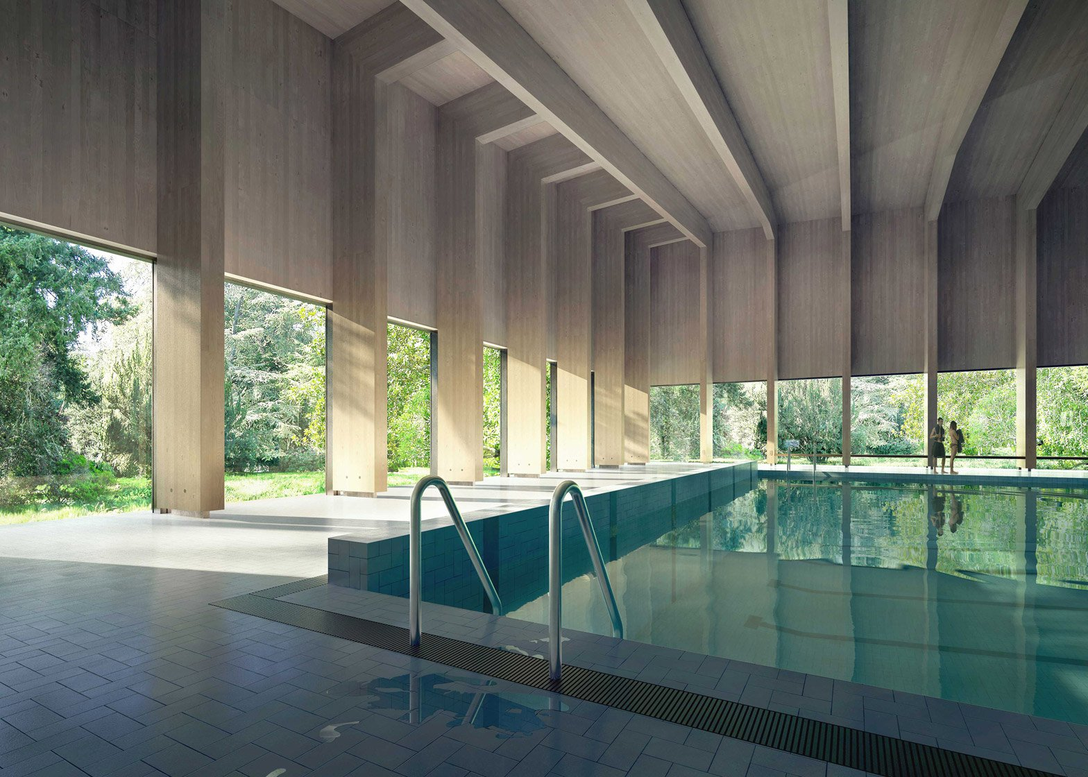 Ashtead pool by Hawkins Brown