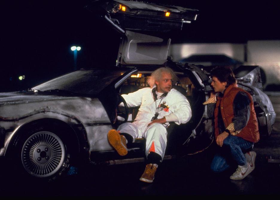 The DeLorean DMC-12 car