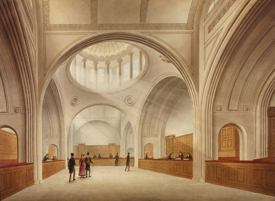 Bank of England, London, 1818-23, by John Soane