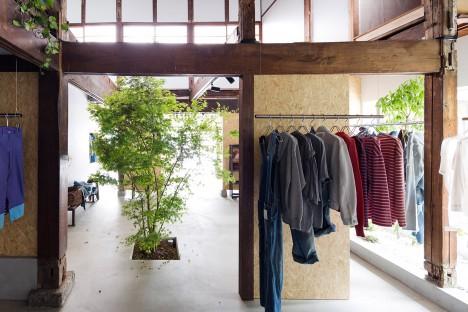 Bankara vintage clothing store by Manabu Okano
