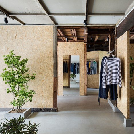 Manabu Okano transforms 1940s Japanese house into vintage clothing store