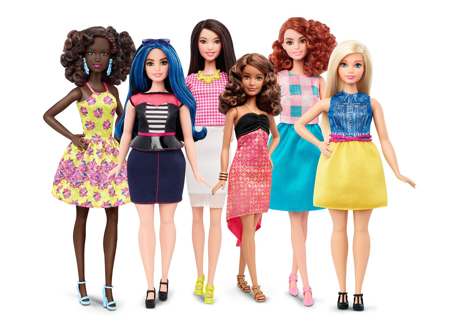 Image result for barbie dolls different bodies