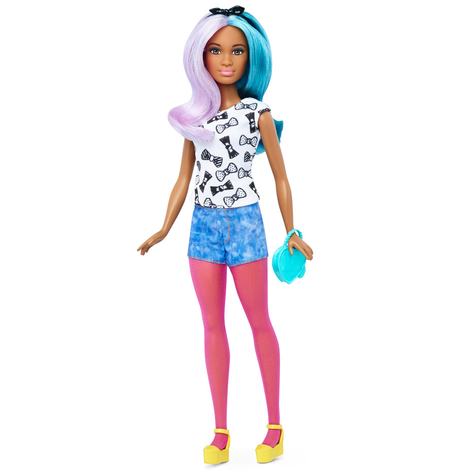New Barbie redesign, including curvy and and diverse models
