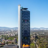 Legorreta and Rogers team up to complete Mexico City bank headquarters