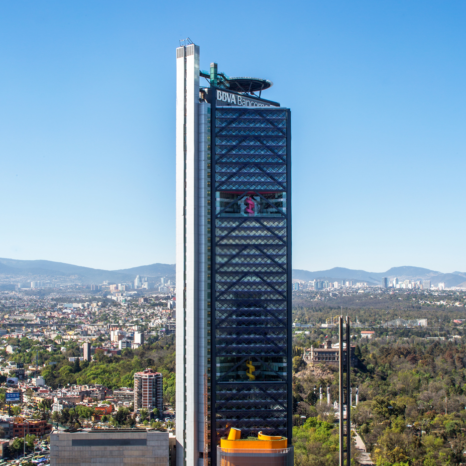 BBVA Bancomer Headquarters by Legorreta and Rogers