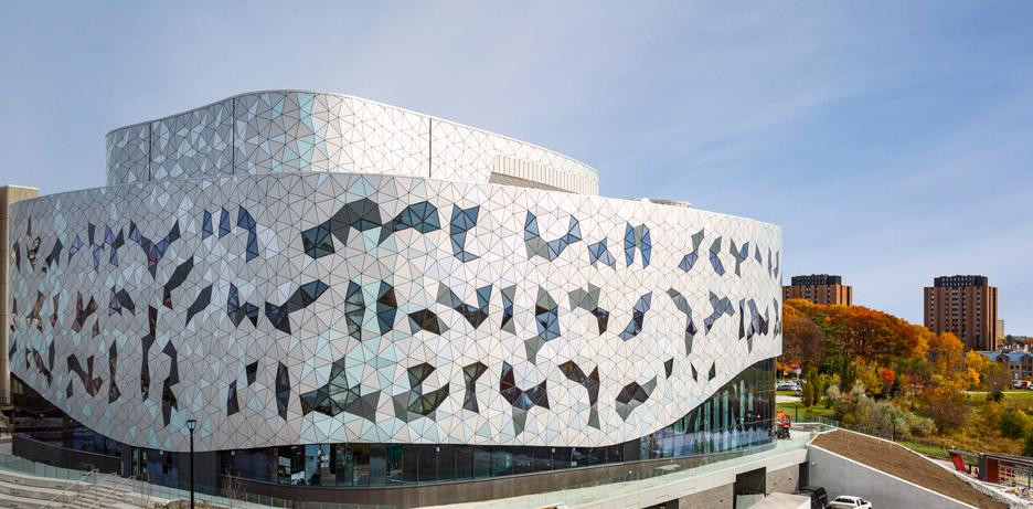 Bergeron Centre by ZAS