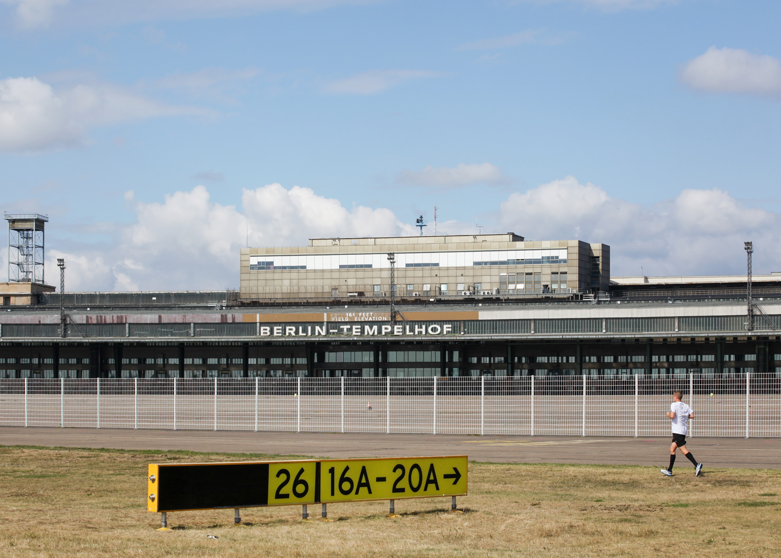 Berlin's decommissioned Tempelhof Airport is one of the city's most iconic buildings
