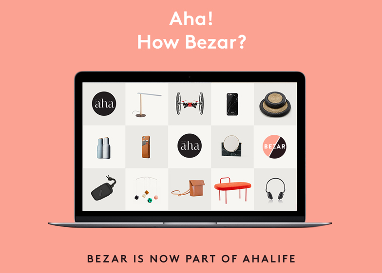 Internet marketplace Ahalife has acquired 100 per cent of online design store Bezar for an undisclosed sum