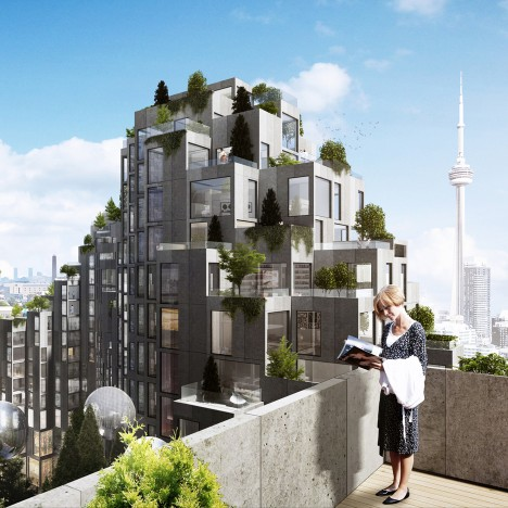 "BIG designs ""Habitat 2.0"" for Toronto"
