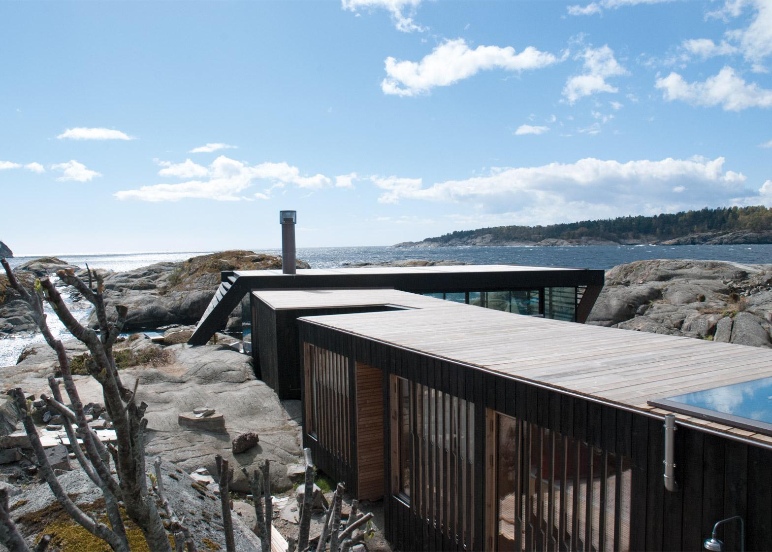 Cabin Lille Arøya by Lund Hagem