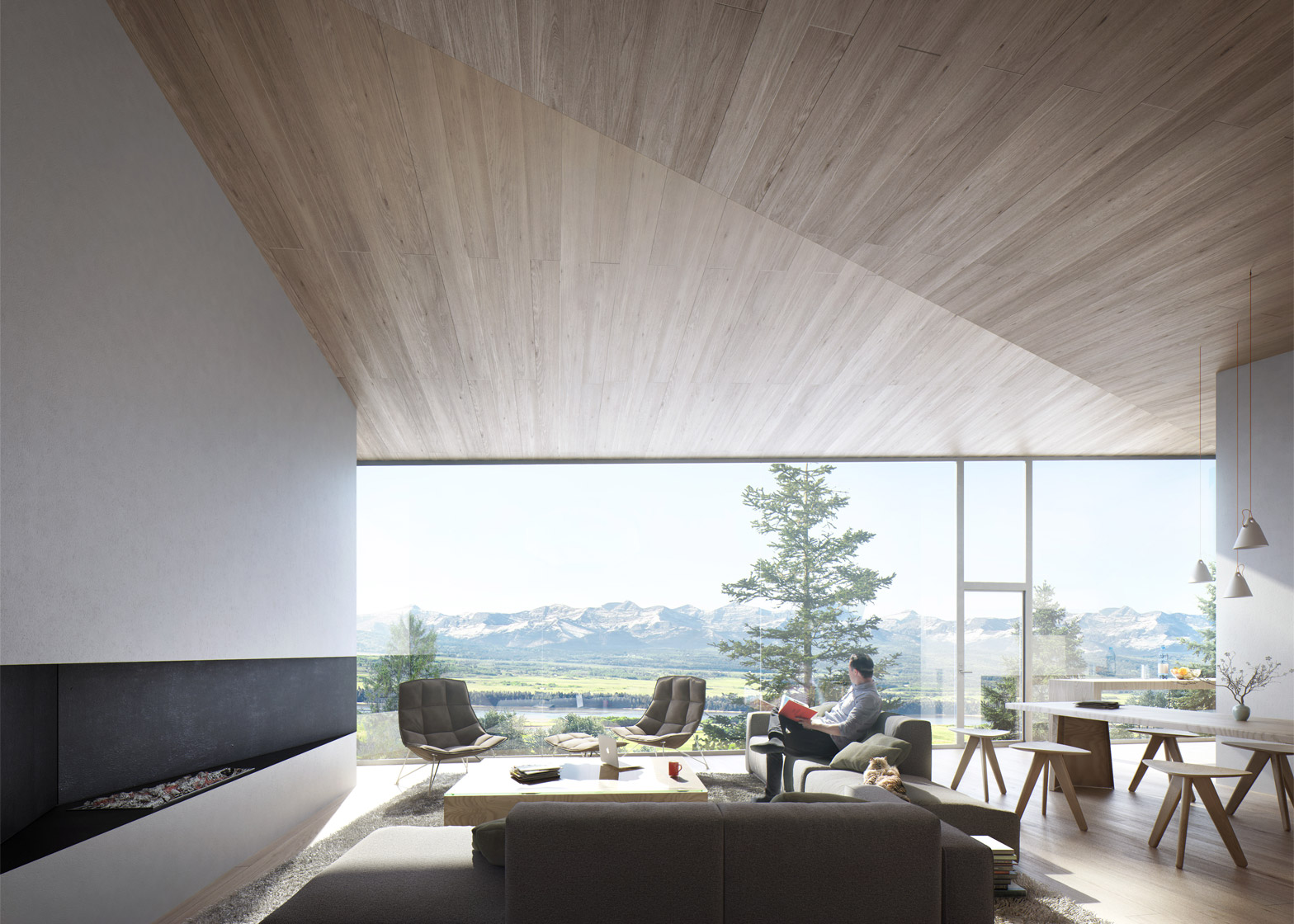 Saunders Architecture unveils five houses for Carraig Ridge ...