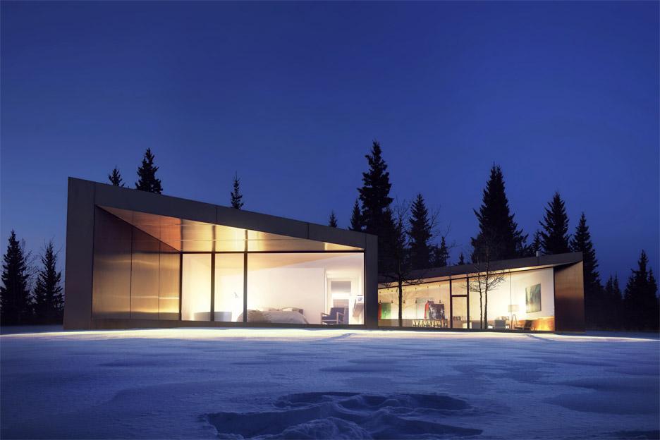 saunders architecture unveils five houses for carraig ridge