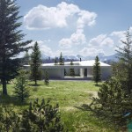 Saunders Architecture unveils five house designs for Canadian wilderness development