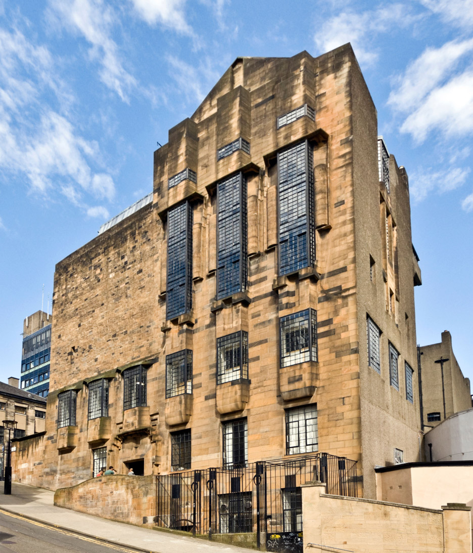 The Glasgow School of Art, Glasgow, 1897-99, by Charles Rennie Mackintosh