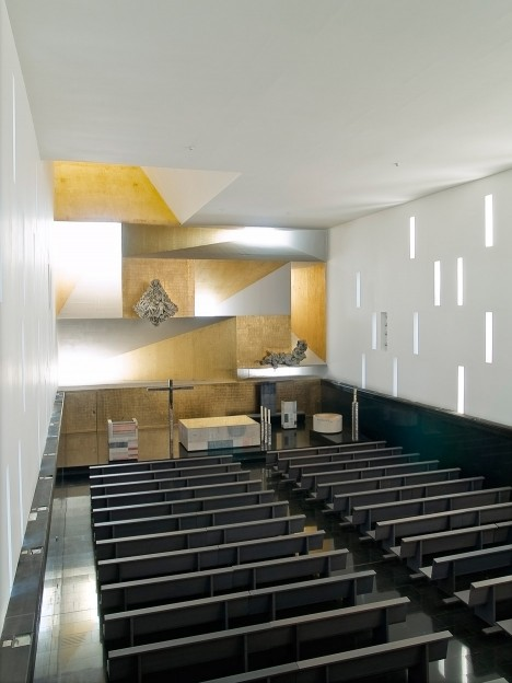 Church of Santa Monica by Vicens and Ramos