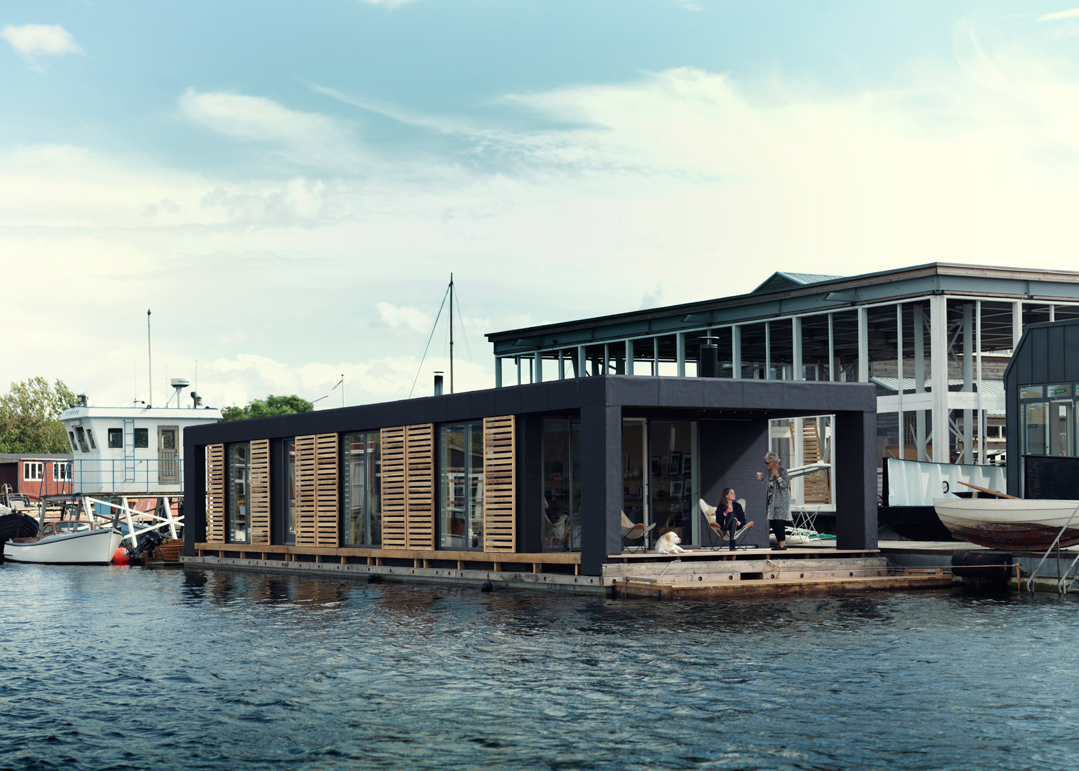 Houseboat Images Houseboat By Laust Nargaard Floats In Copenhagen Harbour