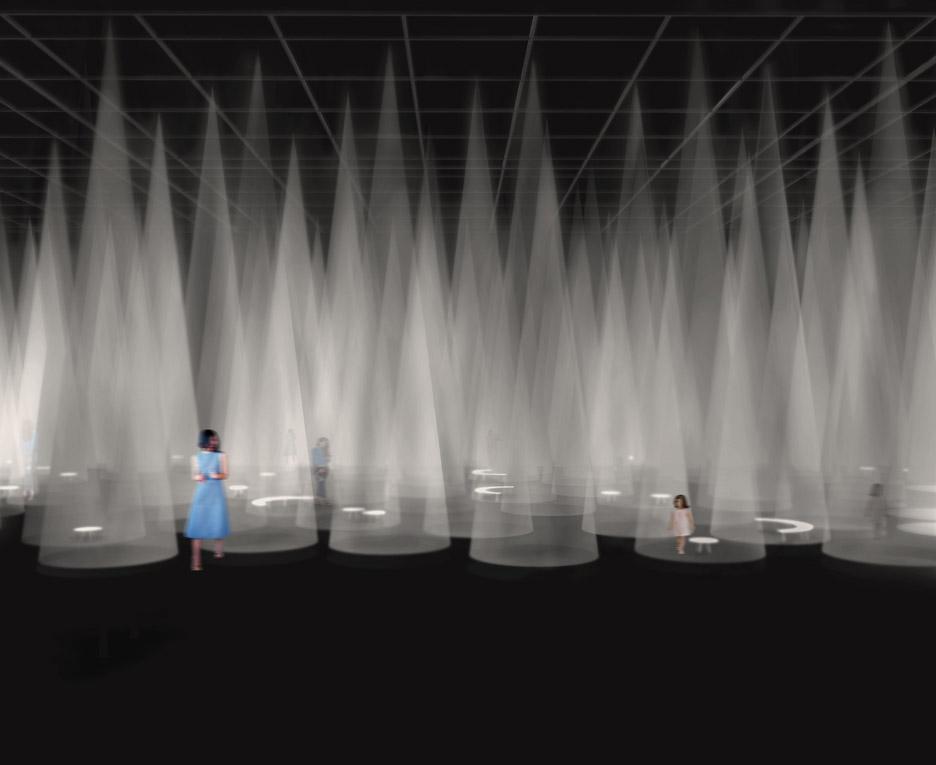 COS installation by Sou Fujimoto