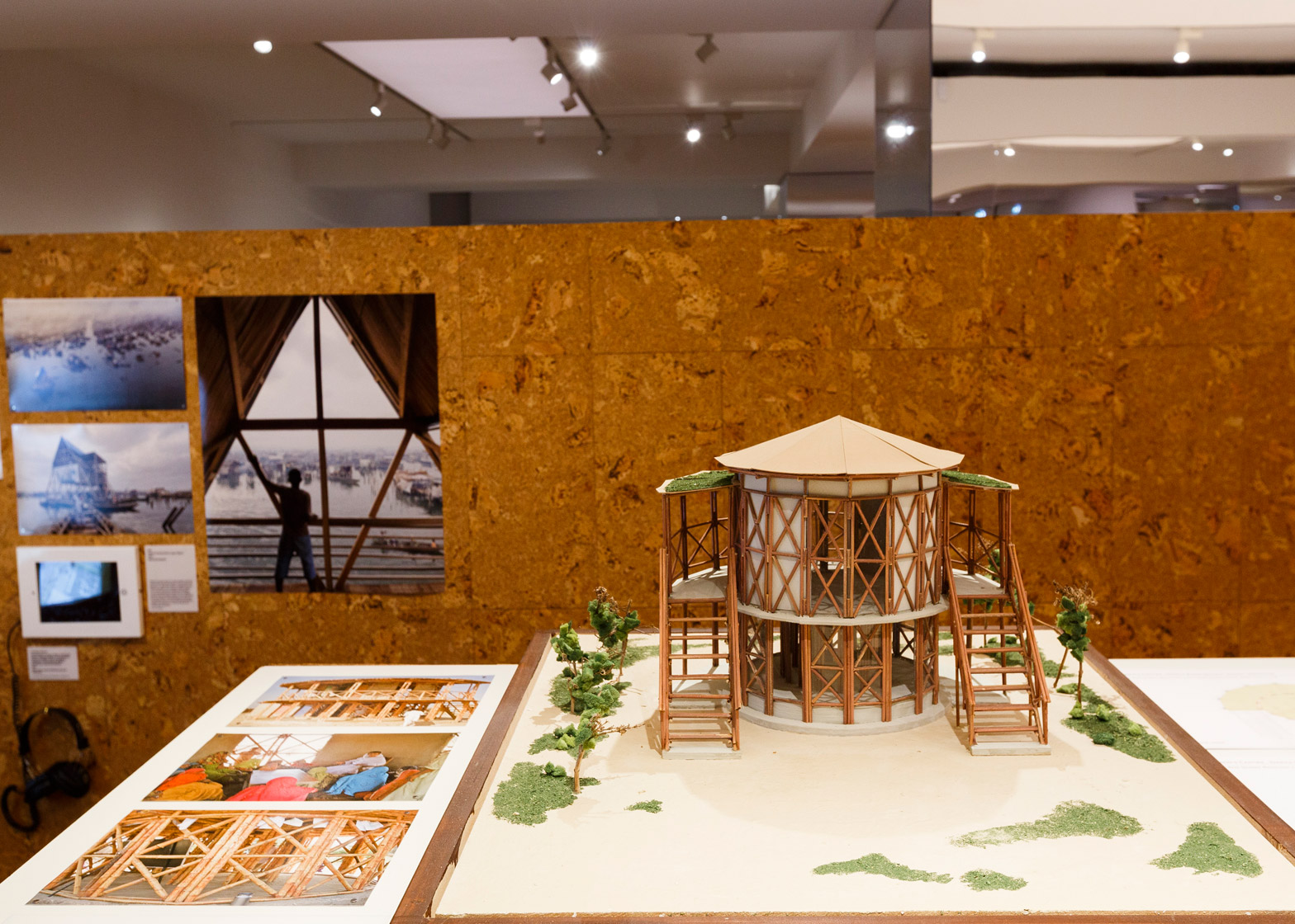 Creation from Catastrophe exhibition at the RIBA, London