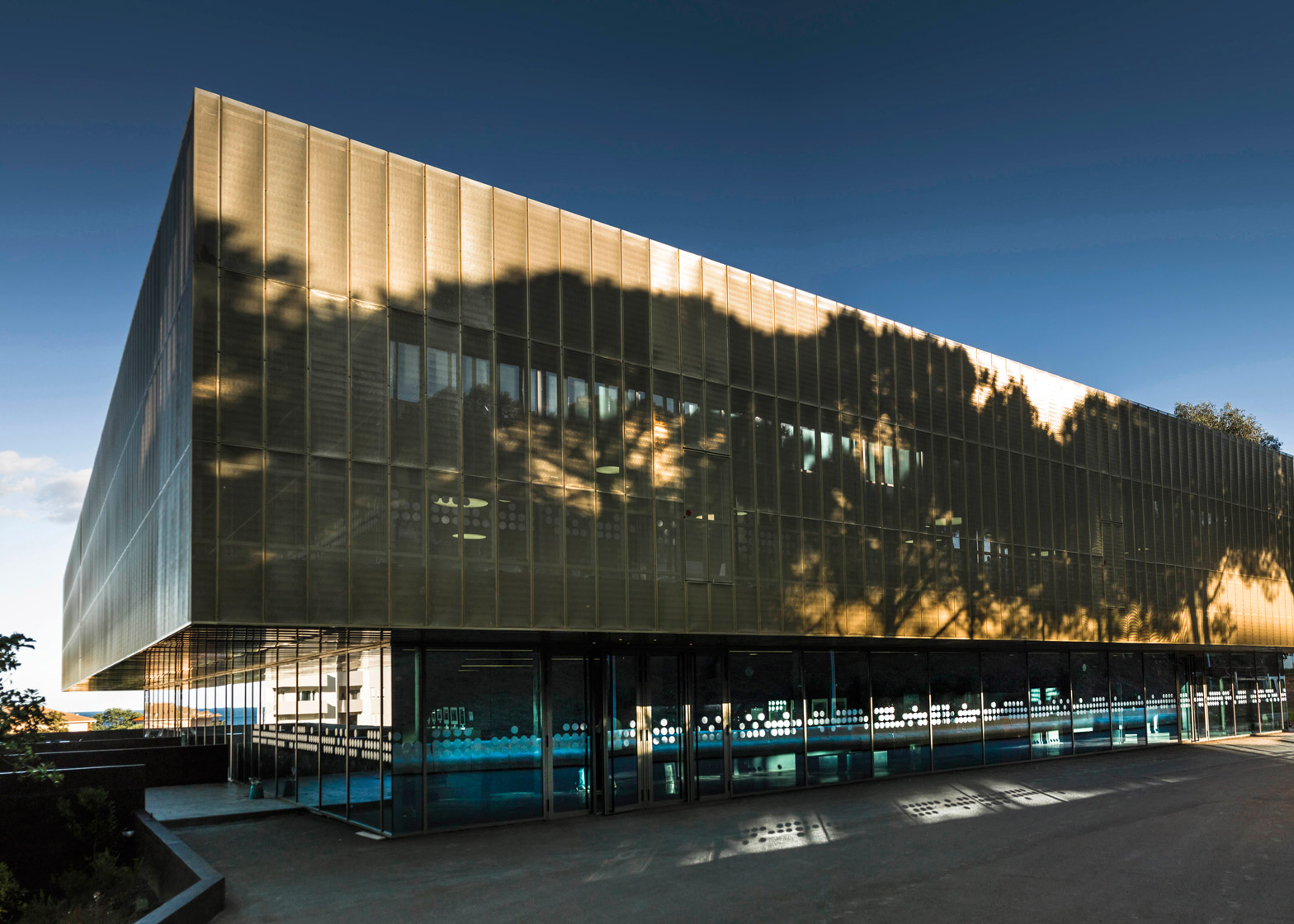 The Alb'Oru cultural centre in Bastia by DDA Architectes