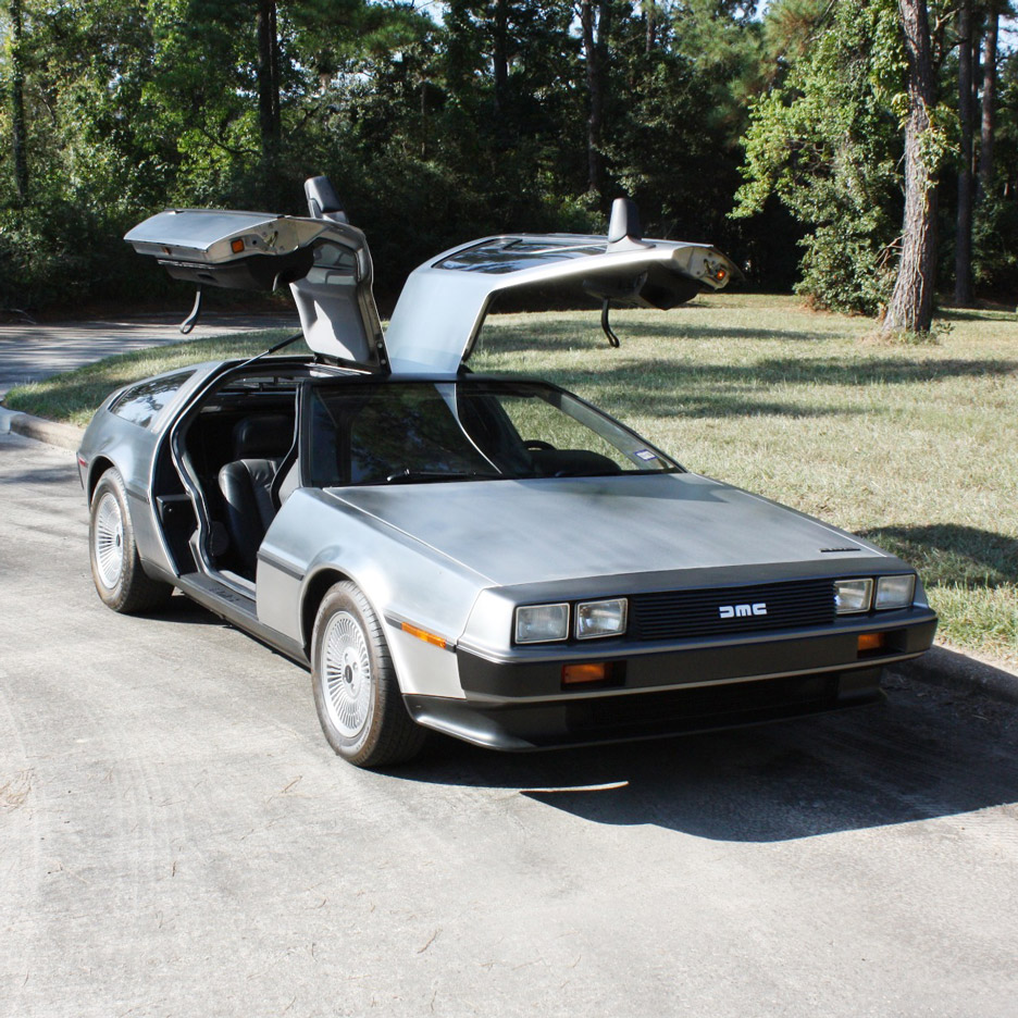 The DeLorean DMC-12 car