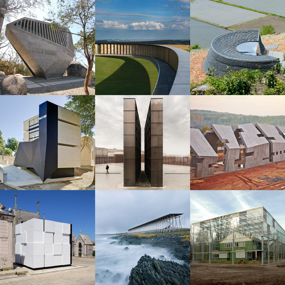 New Dezeen Pinterest board featuring memorials