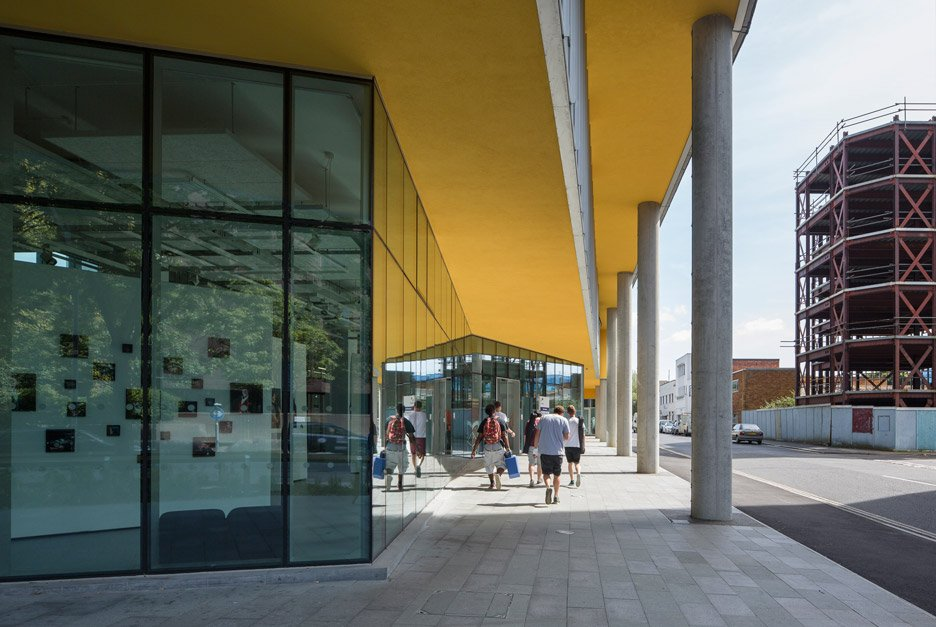 University of Portsmouth by Penoyre and Prasad