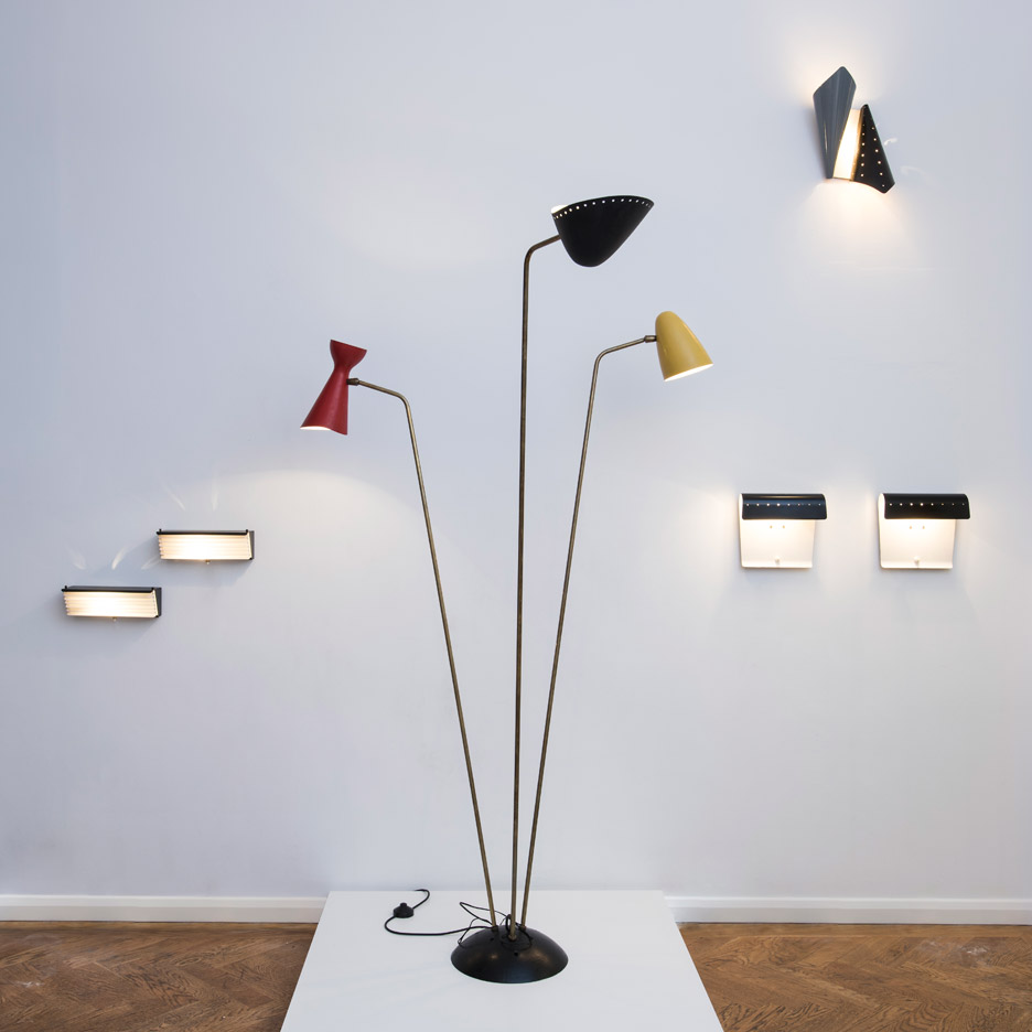 The Enlightened 50s lighting exhibition illuminates London's Galerie Kreo