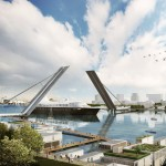 Terry Farrell proposes six new bridges across River Thames in east London