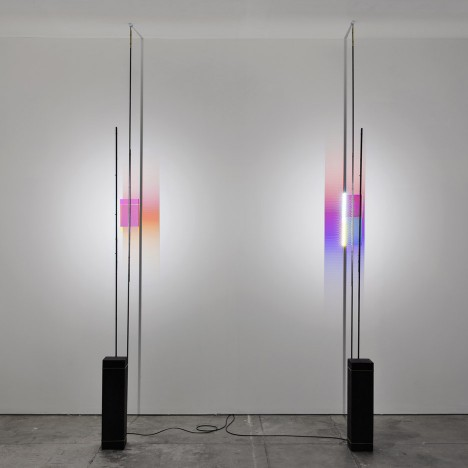 Light is bent, refracted and projected at Formafantasma's Anno Tropico exhibition