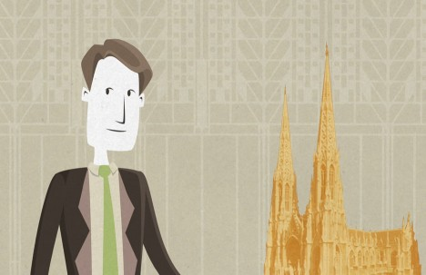 Frank Lloyd Wright animated movie