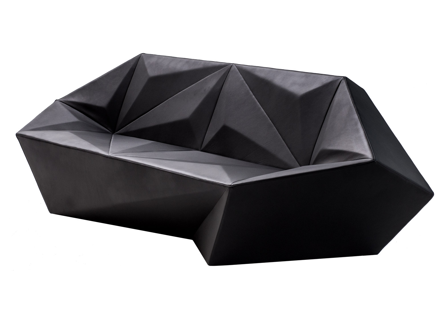 Gemma seating collection for Moroso by Daniel Libeskind