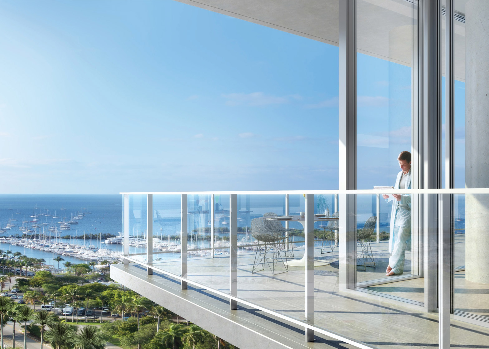Grove at Grand Bay Penthouse by BIG