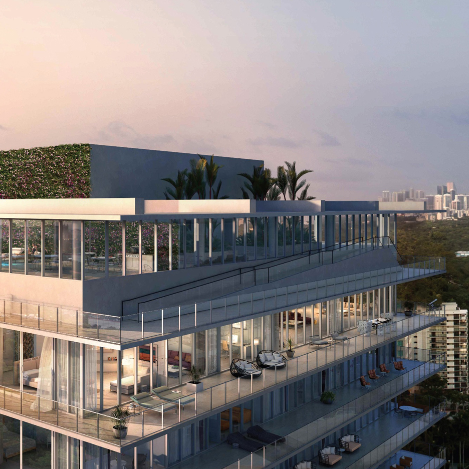 Penthouse in BIG's twisted Miami towers is on sale for $28 million