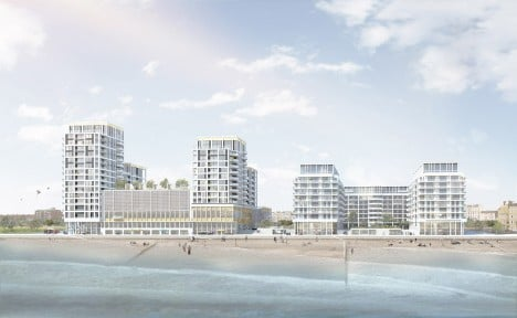 Brighton seafront development by Haworth Tompkins