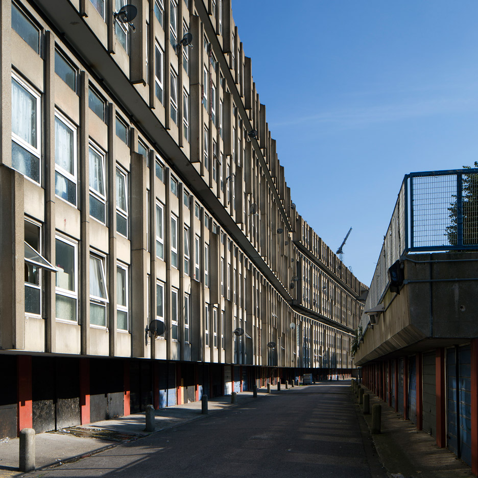 Haworth Tompkins on Robin Hood Gardens