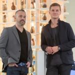 Jason Goldberg, left, and  Petrus Palmér, right. Photograph by Luke Hayes