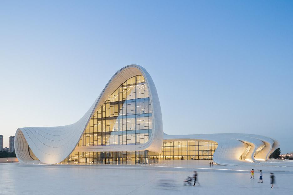 Heydar Aliyev Cetre, Baku, Azerbaijan, 2007-12, by Zaha Hadid Architects