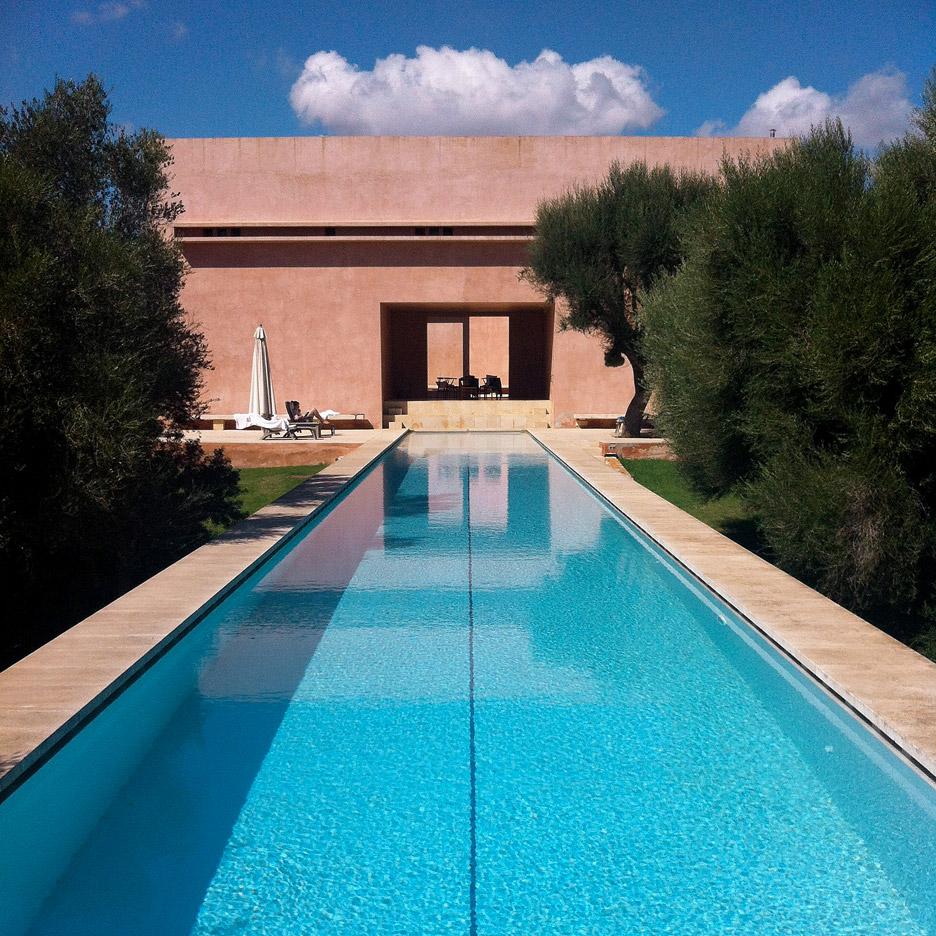 Els Comellars by John Pawson and Claudio Silvestrin, Spain. Photograph is by Andre Rival