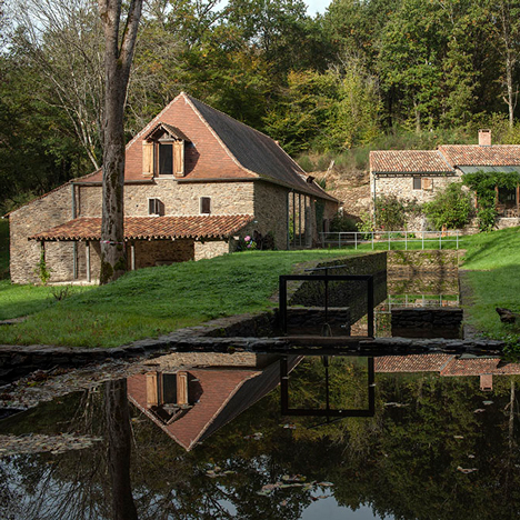 Le Moulin and Le Four by Piet Hein Eek, France. Photograph is by Thomas Mayer