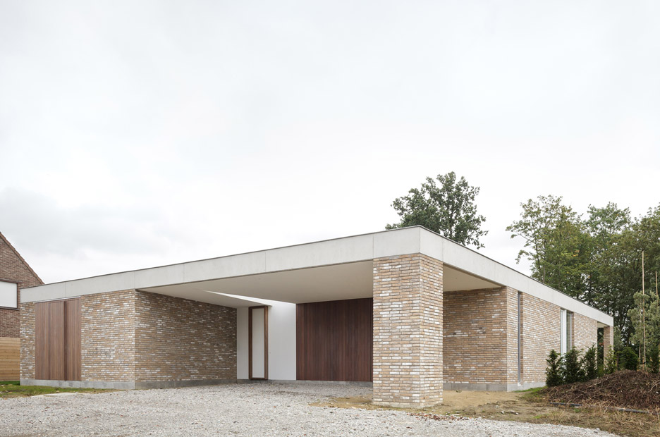 House CW in Nazareth, Belgium by Wim Heylen