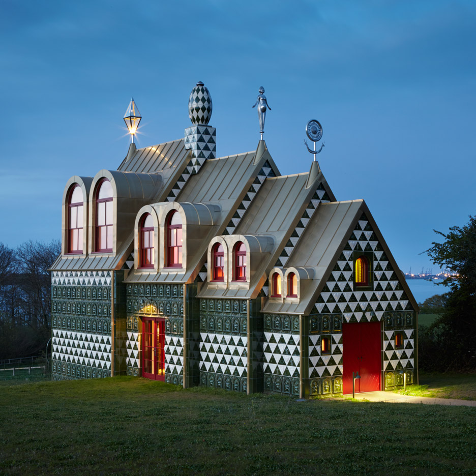 A House for Essex, Manningtree, 2012-14, FAT with Grayson Perry