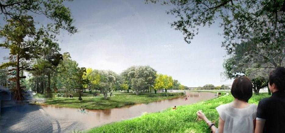 West 8 designs a new botanical garden for Houston