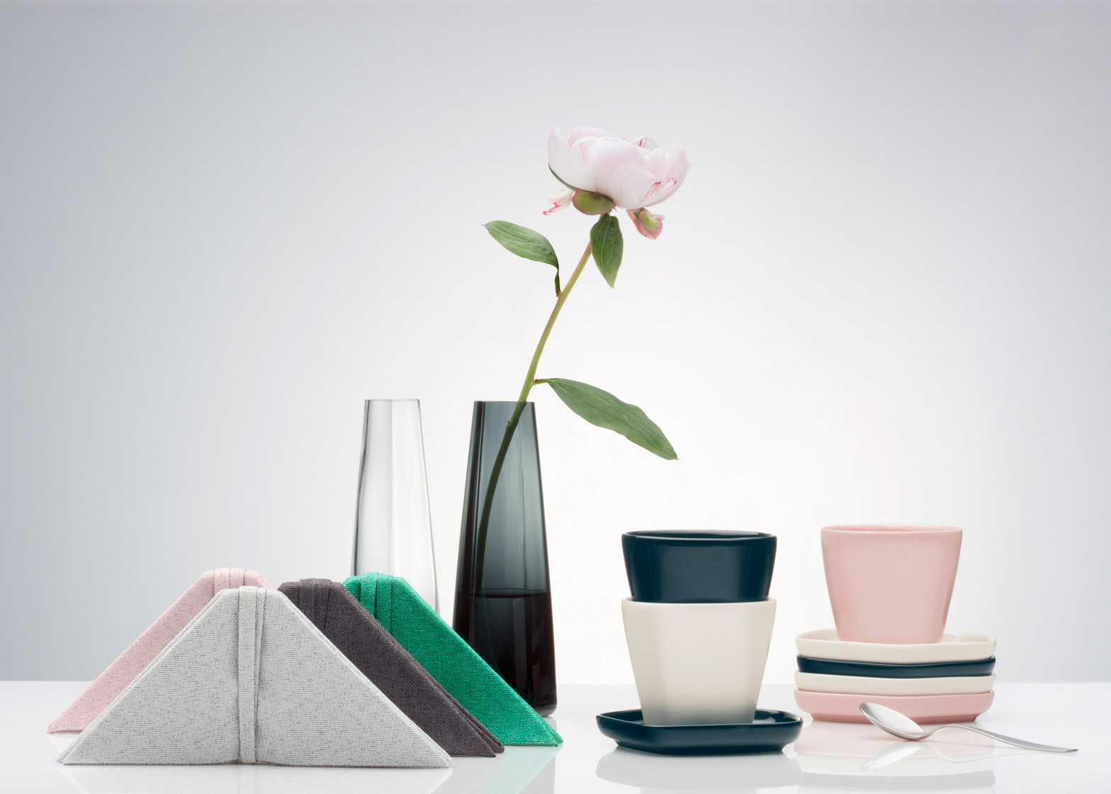 Iiittala x Issey Miyake collaboration for homeware collection at Stockholm Design Fair 2016