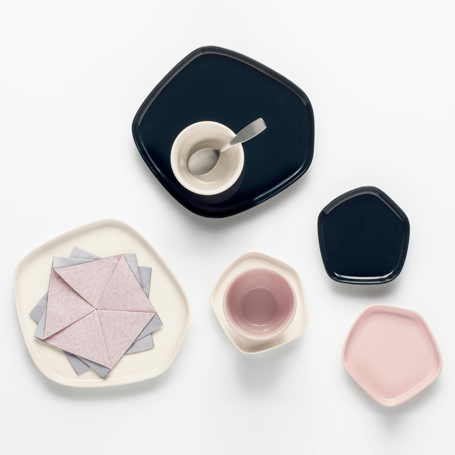 "Iittala x Issey Miyake Collection unites ""minimal design languages"" of Japan and Finland"