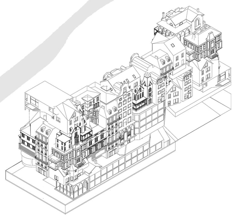 Immeuble Village by Périphériques in Paris, France