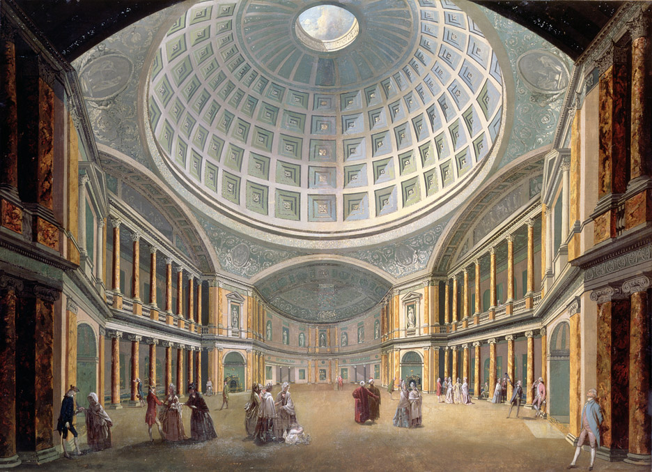 The Pantheon, Oxford Street, London, 1770-72, by James Wyatt