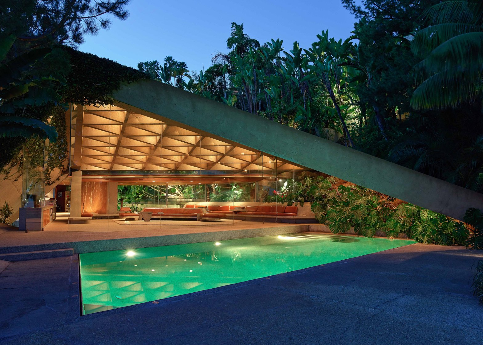 John Lautner's Big Lebowski house gifted to the Los Angeles County Museum of Art