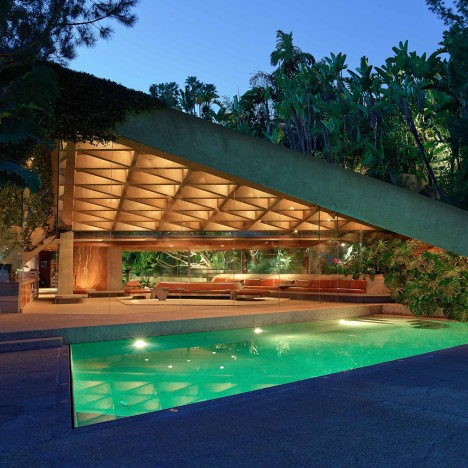 John Lautner's Big Lebowski porn house gifted to the Los Angeles County Museum of Art