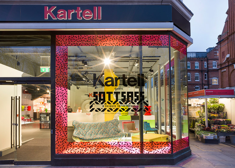 Kartell opens first UK flagship in London\'s Kensington